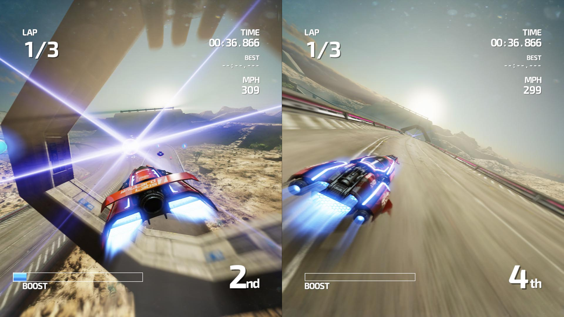 Space Cars Racing Games